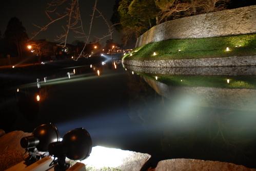 彦根城お堀1